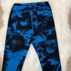 Lucy Pants - Lucy Blue floral yoga pant